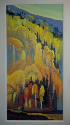 """Autumn Patterns"" Stephen Quiller. Stephen Quiller Gallery, Creede,  CO."