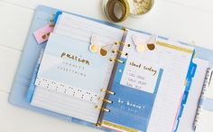 Decorate your Calendar pages with a kikki.K Planner Dashboard Kit