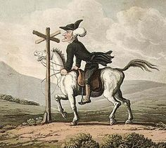 "Dr Syntax: losing his way was William Combe's mock satire of the Anglican Cleric, William Gilpen's quest to find ""the Picturesque"" in Britain in the 1760s..."
