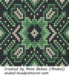 Схемы кулонов - станочное ткачество / гобеленовое плетение #beadwork #beading #pattern #loom