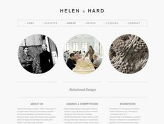 Here's a Minimalistic #webdesign