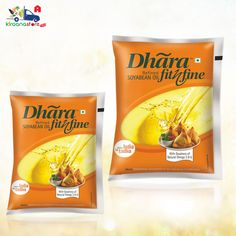 Dhara Fit n Fine Refined Soyabean Oil 1LT @ Rs. 119/- Online at Kiraanastore.com. Get Free Shipping & Pay COD. Buy Now!!
