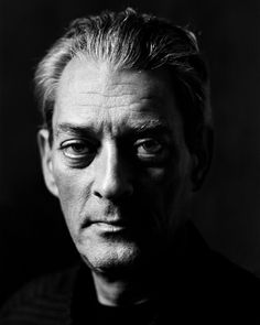 Paul Auster (1947) - American author and director whose writing blends absurdism, existentialism, crime fiction, and the search for identity and personal meaning. Photo by Rüdy Waks.