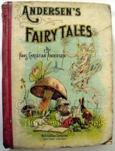 1890's Hans Christian Andersen love him and his stories~the little mermaid...my fav is the constant tin soldier