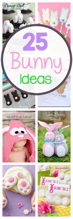 Tweet Pin It Easter is getting close and the internet is FULL of cute ideas to get you all ready. I have found so many cute bunny ideas that I couldn't resist pulling them all together into a fun little Easter roundup. Here are 25 cute, fun, creative, Easter Bunny Ideas. We've got crafts to … [Read More…]