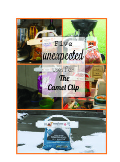 5 unexpected uses for The Camel Clip and beyond!