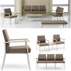 interesting office lobby furniture. Mystic Reception Seating Is Built With A Refined Combination Of Metal, Wood  And Fabric. Interesting Office Lobby Furniture