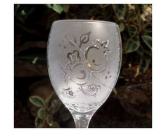 Silver Pomegranate Kiddush Glass for Shabbat by LDDecoline on Etsy, $47.00
