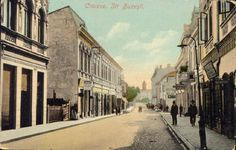 Craiova Str. Buzeşti, anii 1900 Old Pictures, Old Photos, Painting, Vintage, Painting Art, Paintings, Vintage Comics, Painted Canvas, Primitive