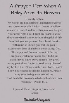 I don't understand why many things happen in this life. When children pass a way it is diffcult. Here is a prayer for when a baby goes to heaven. Prayers and how to pray Miscarriage Remembrance, Miscarriage Quotes, Miscarriage Awareness, Stillborn Quotes, Pcos Infertility, Baby Engel, Losing A Baby, Losing A Child, Pregnancy And Infant Loss