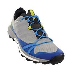 Men's adidas Terrex Agravic Trail Running Shoe Mid Grey//Clear Onix