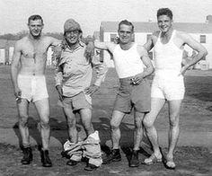 US Soldiers showing off their ... underwear