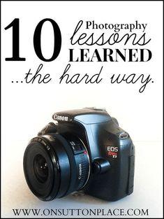 Cursus fotografie volgen