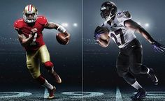 Nike Unveils Uniforms and Cleats for Super Bowl XLVII