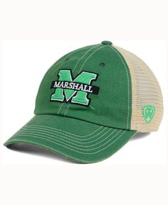 Top of the World Marshall Thundering Herd Wicker Mesh Cap