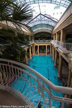The 5 Stars Gellert Hotel & Thermal Bath, Budapest, Hungary The Places Youll Go, Places To See, Budapest Thermal Baths, Travel Around The World, Around The Worlds, Regions Of Europe, Heart Of Europe, Destinations, City Break