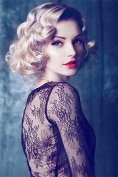 #Vintage hairdos for long hair