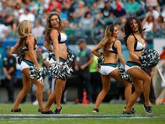 PHILADELPHIA, PA - SEPTEMBER 11: The Philadelphia Eagles cheerleaders perform…