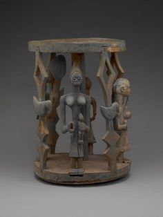 Africa | Yoruba Stool. | The Indianapolis Museum of Art