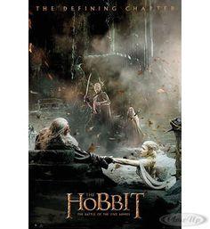 The Hobbit Poster Die Schlacht der fünf Heere Aftermath Hier bei www.closeup.de