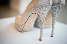 www.weddbook.com everything about wedding ♥ Jimmy Choo Rhinestone Wedding Platforms #weddbook #wedding #shoes #fashion #jimmychoo