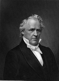 James Buchanan was a life long bachelor and never had any children. His niece, Harriet Lane, served as hostess. President of The United States March 1861 Presidents Wives, American Presidents, American Civil War, American History, Presidential History, James Buchanan, American Spirit, Jackie Kennedy, Historical Pictures