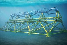 Green Power - Using The Tide To Create Energy  #technology #green #power