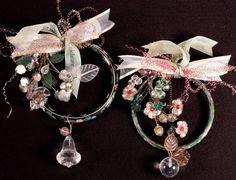 Flea Market finds make great, original ornaments.