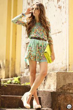 FashionCoolture ~ Antix Floral pattern dress