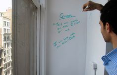 IdeaPaint on Creatives Outfitter.   Turn anything. Into an erasable marker board