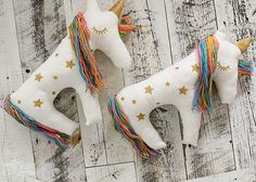 Make a Unicorn Plush Pillow with the Cricut Explore Air | The DIY Mommy