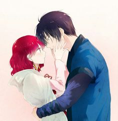 Yona and Hak Yona Akatsuki No Yona, Anime Akatsuki, Manga Art, Manga Anime, Anime Art, Romantic Anime Couples, Cute Couples, Diabolik Lovers, Couple Manga