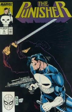 The Punisher #8 1987, 2nd Series Marvel Comics Very Good