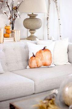Fall home decor ideas to celebrate the season - Home styling inspiration, seasonal decor, fall decor ideas, fall decorating, home style