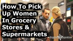 How To Meet & Pick Up Women In Supermarkets & Grocery Stores - Simple Da. Dating Memes, Dating Quotes, Dating Tips, Meet Women, Lifetime Movies, Christian Men, Small Talk, Funny Tee Shirts, Dating After Divorce