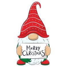 Christmas Rock, Christmas Gnome, Christmas Projects, Holiday Crafts, Merry Christmas, Christmas Ornaments, Christmas Wishes, Christmas Drawing, Christmas Paintings