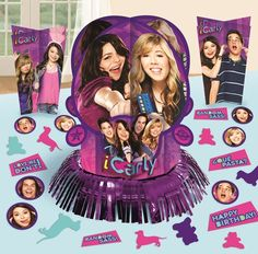 iCarly Table Decorating Kit|Fast Shipping|12.6 inches