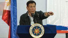 Presidente das Filipinas, Rodrigo Duterte, xinga Presidente Obama sobre caso dos…
