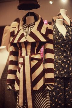 Biba stripes so like the striped 18th jacket pinned earlier on this board