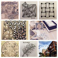 #zentangle, #czt, #mindfulness, #drawing, #providence, #hotelprovidence, #tangle, #patterns, #enjoylife