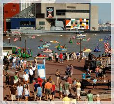 Baltimore's Famous Inner Harbor: One of the stops on that RV trip with my uncle and his family.