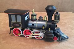 Disney Store Pixar Die-cast Train Muir Engine Disney Planes Cars railroad engine #DisneyStore