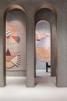 Interior Design Addict: Spotted at IMM Cologne and Maison & Objet ✨ By Architecture Details, Interior Architecture, Interior And Exterior, Arch Interior, House Entrance, Deco Design, Design Art, Retail Design, Interior Design Inspiration
