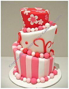 2011 Birthday Cake Gallery Flower Cake