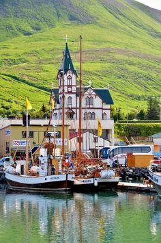#Husavik en verano #Islandia