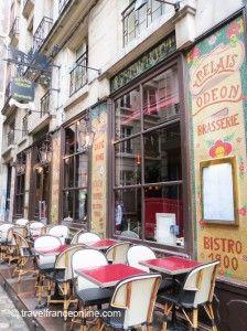 Brasserie #restaurant Relais Odéon in Cour du Commerce St-André in St-Germain des Prés #Paris www.travelfranceonline.com