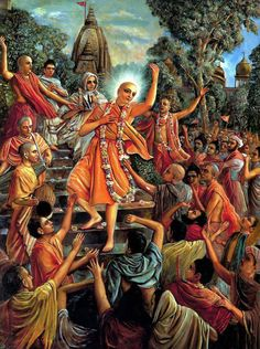 """Kali-yuga means the dark age or the sinful age, or the age for argument, unnecessary talks, and fight. ...But everyone can be free from all the anxieties if he follows the path chalked out by Sri Caitanya Mahaprabhu... simply to chant the holy name of God. That's all!"""
