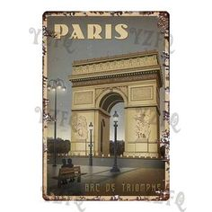 Metal Walls, Metal Wall Art, Triomphe, Wall Bar, Gallery Walls, Metal Signs, Mix Match, Wall Signs, Paris France
