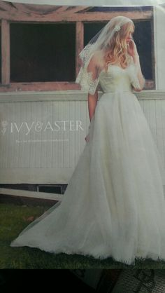 Ivy and aster wedding dress