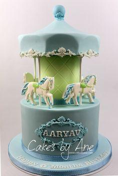 Carousel Cake #festa #carouselcake